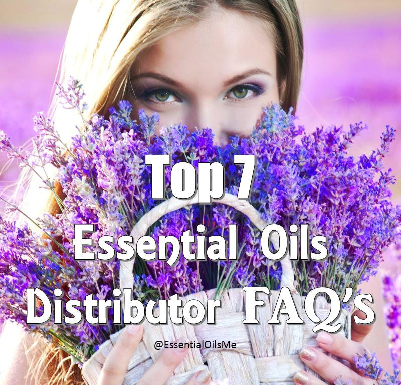 Essential Oils Distributor FAQs ig