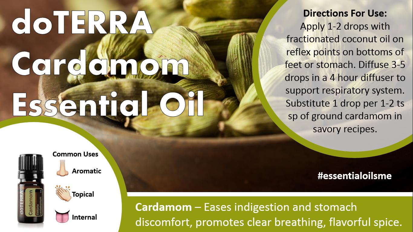 Doterra Cardamom Essential Oil Uses