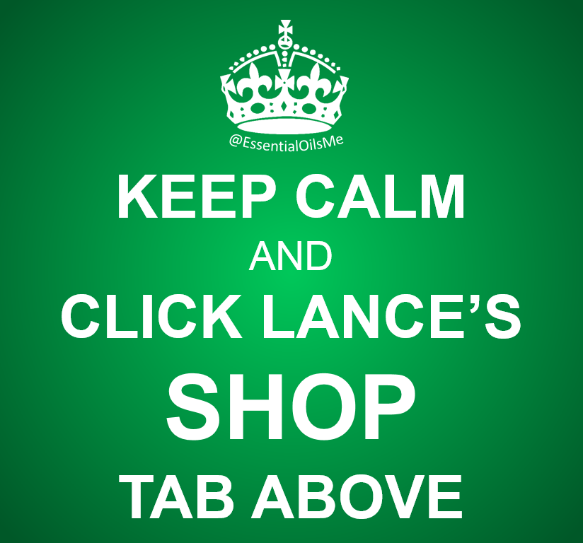 Keep Calm And Click Lance's Shop Tab Green