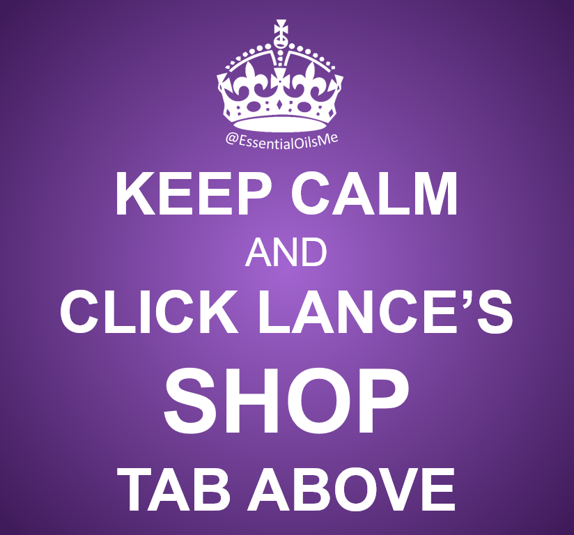 Keep Calm And Click Lance's Shop Tab Purple