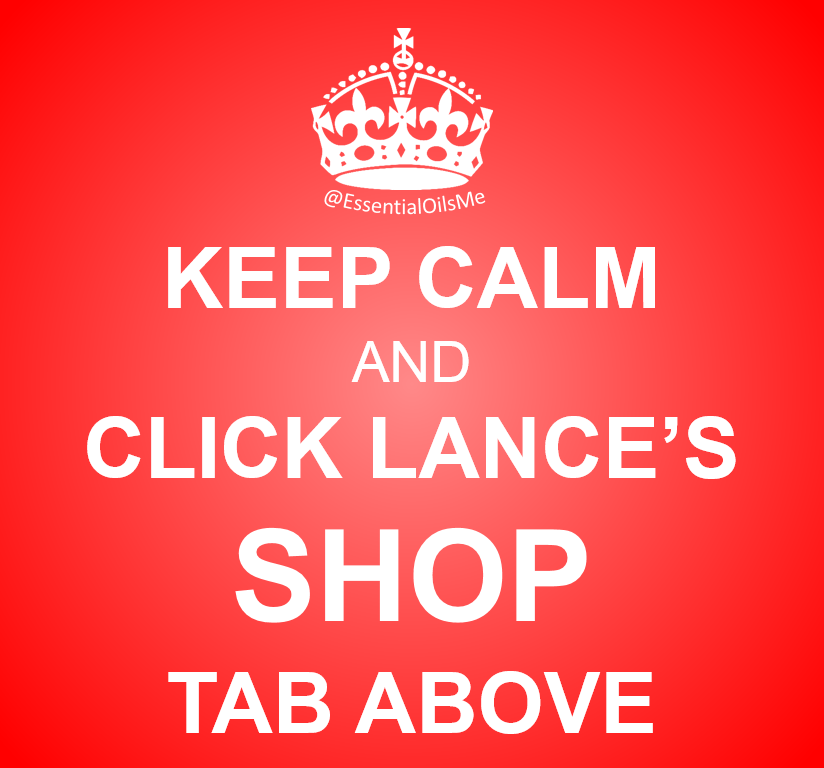 Keep Calm And Click Lance's Shop Tab Red