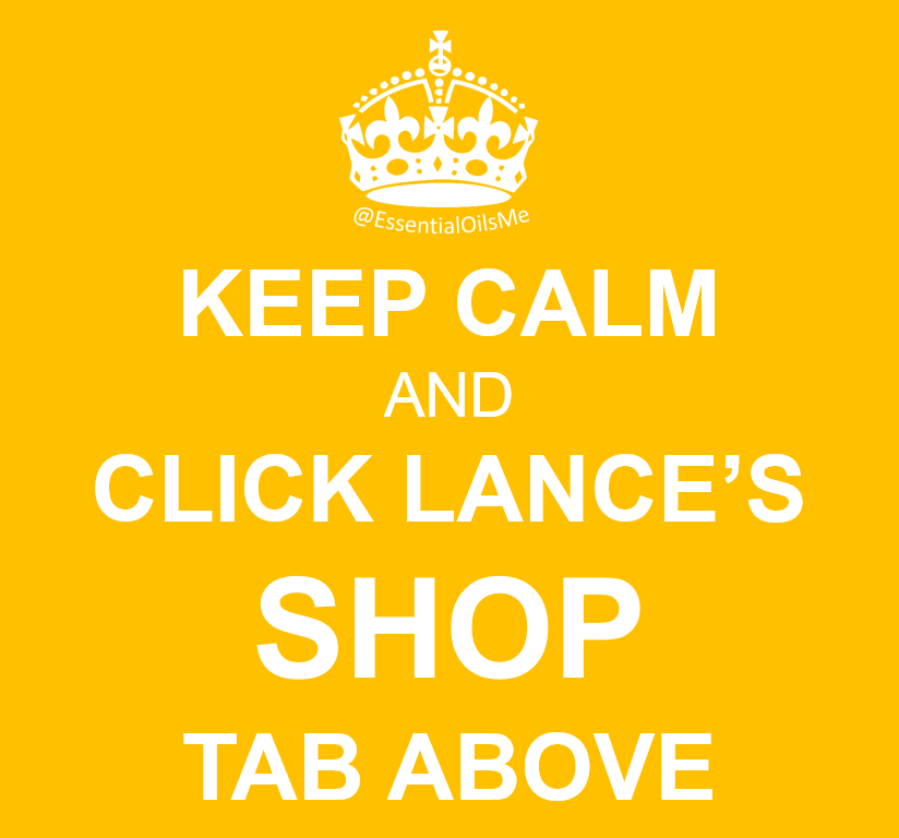 Keep Calm And Click Lance's Shop Tab Yellow
