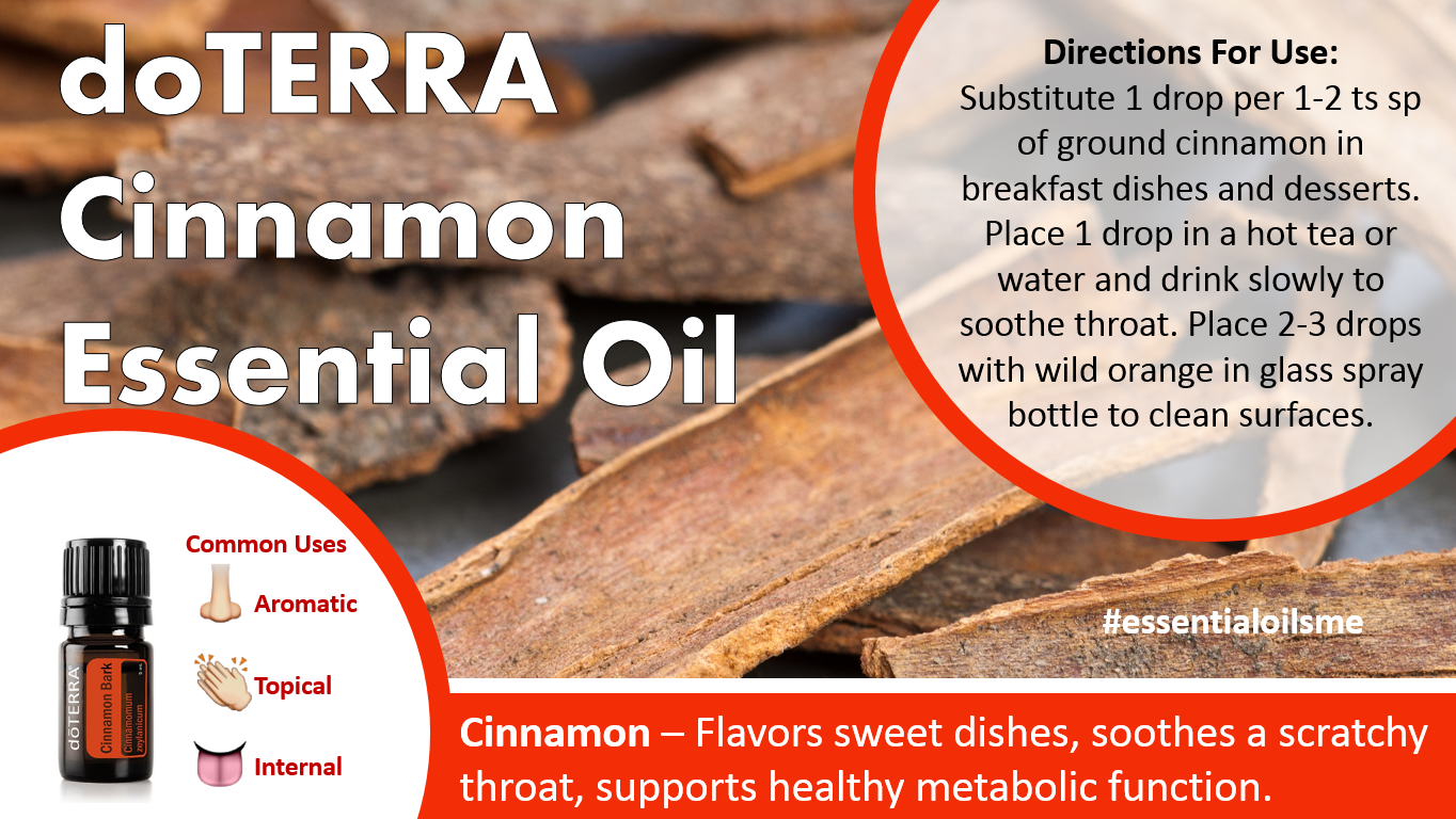 doterra cinnamon essential oil