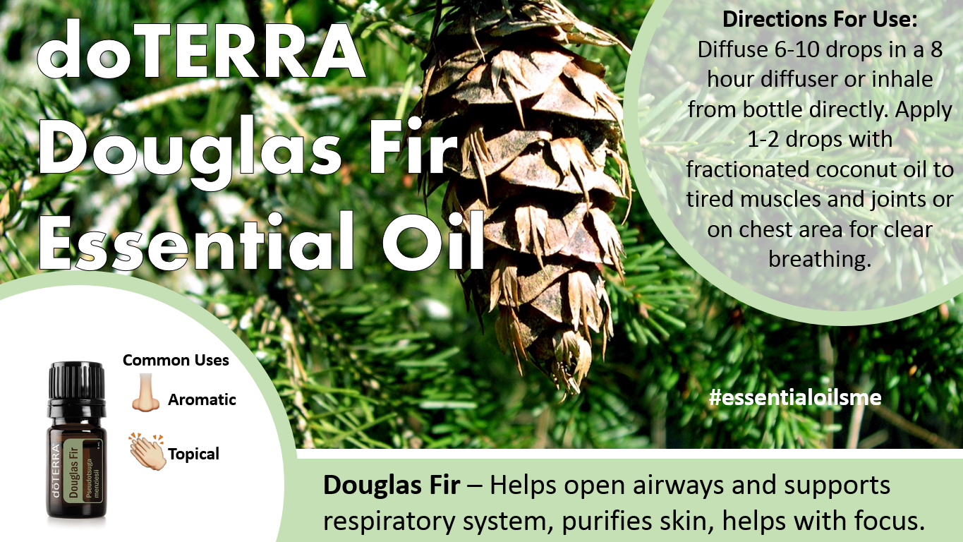 doterra douglas fir essential oil