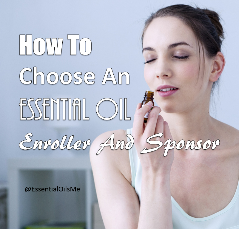 essential oil enroller and sponsor