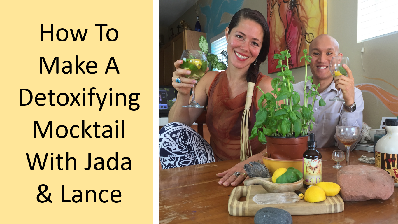 Jada and Lance Youtube Cover - How To Make a Detoxifying Mocktail