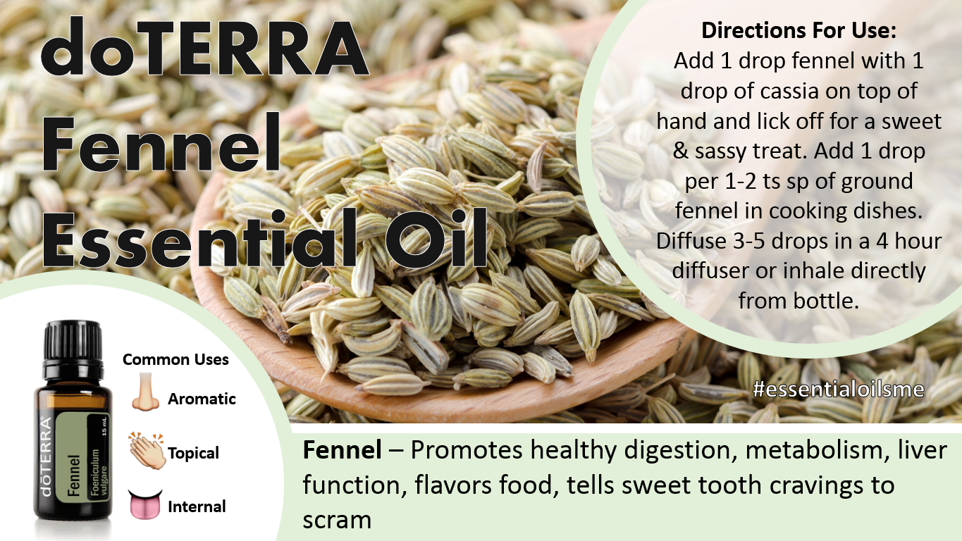 doterra fennel essential oil