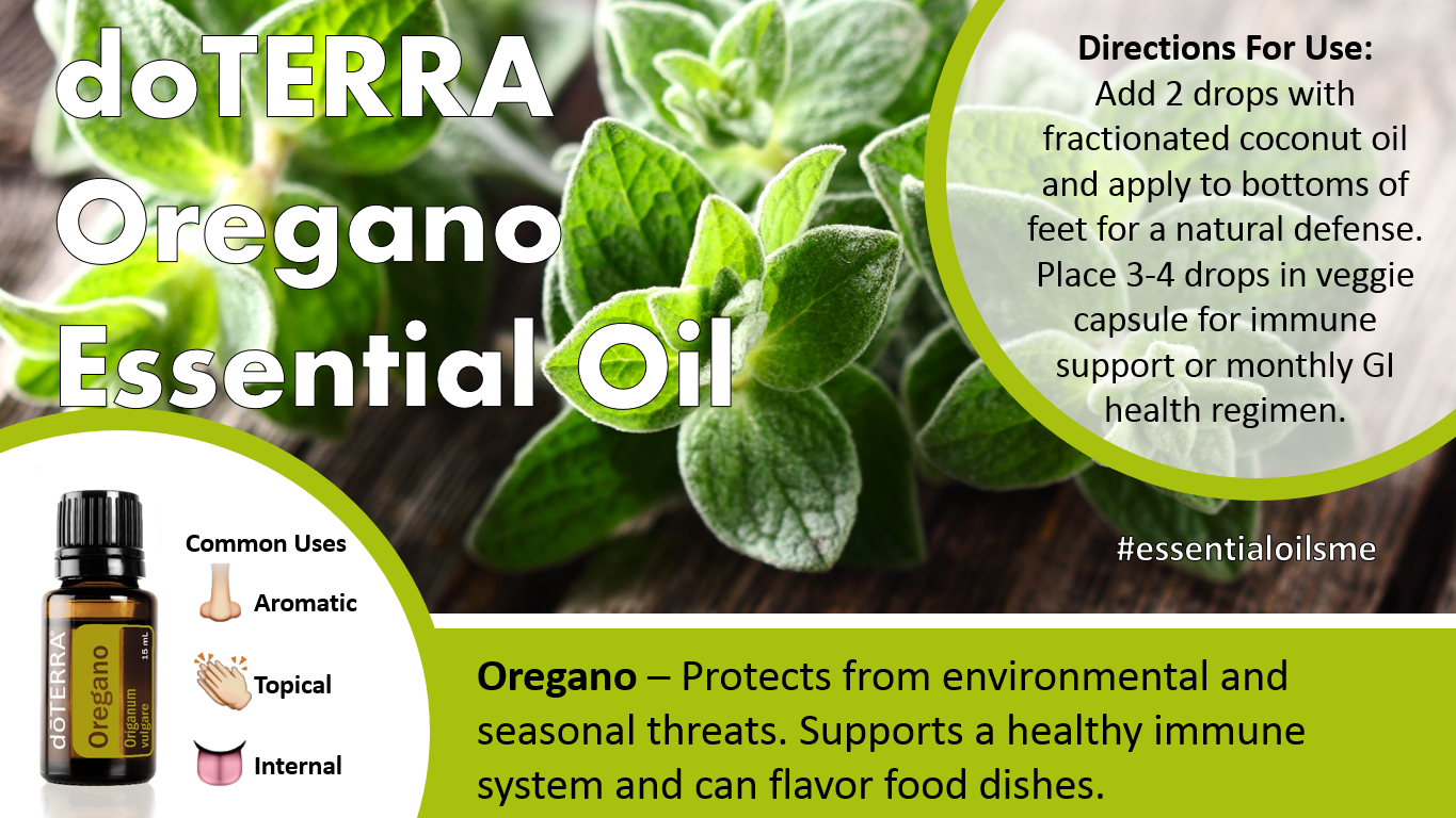 doterra oregano essential oil