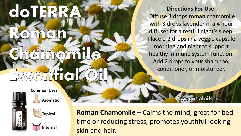 doterra roman chamomile essential oil