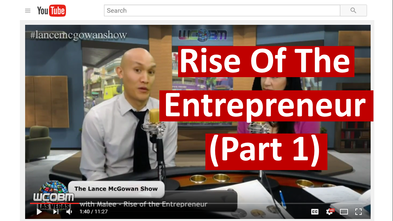 rise of the entrepreneur part 1