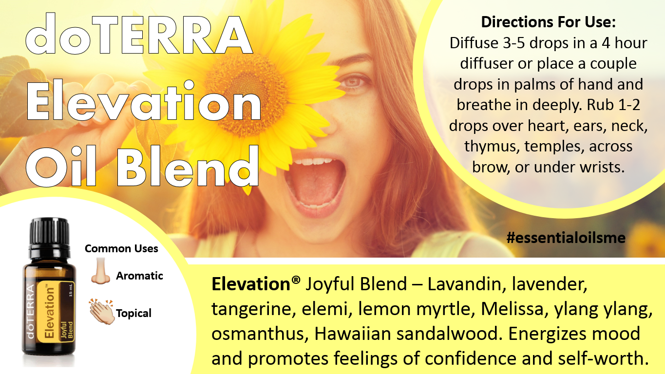 doterra elevation oil blend