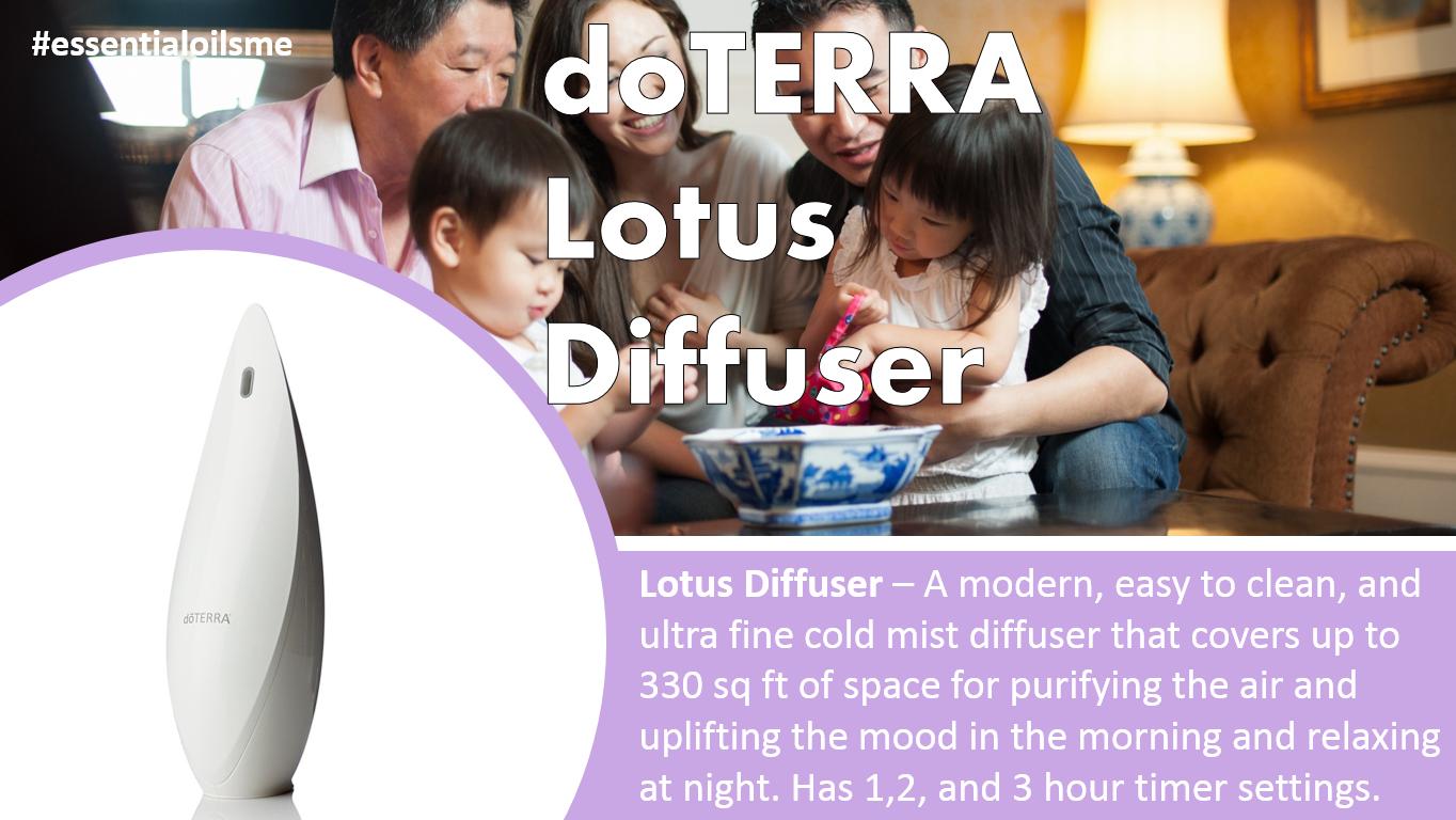 doterra lotus diffuser