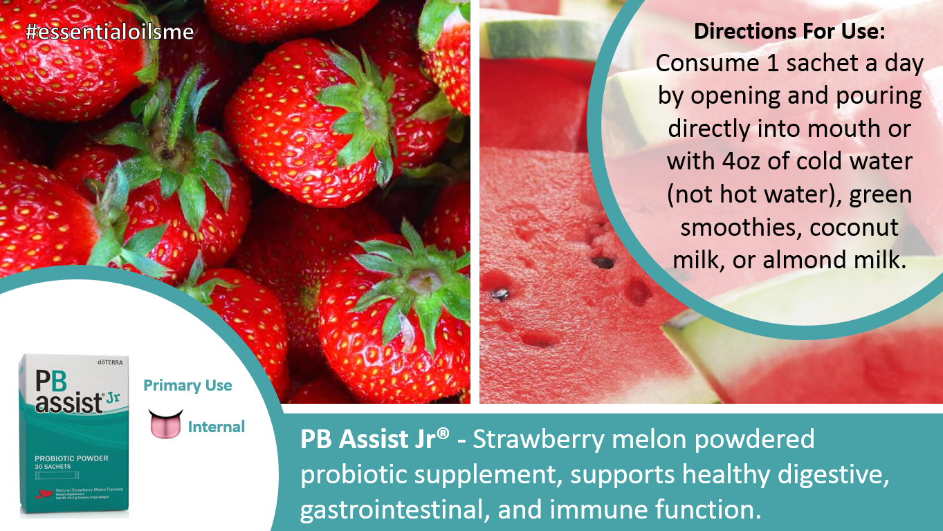 doterra pb assist jr probiotic powder