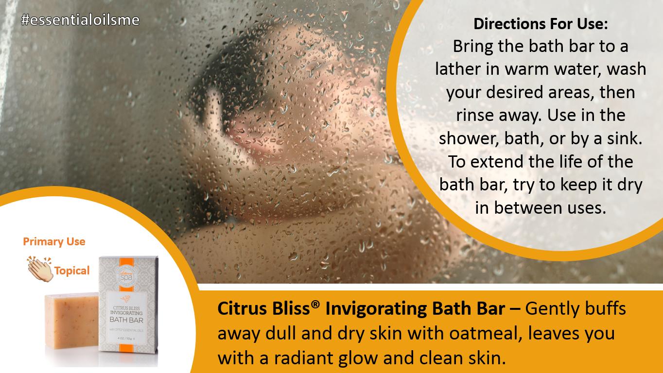 doterra citrus bliss bath bar