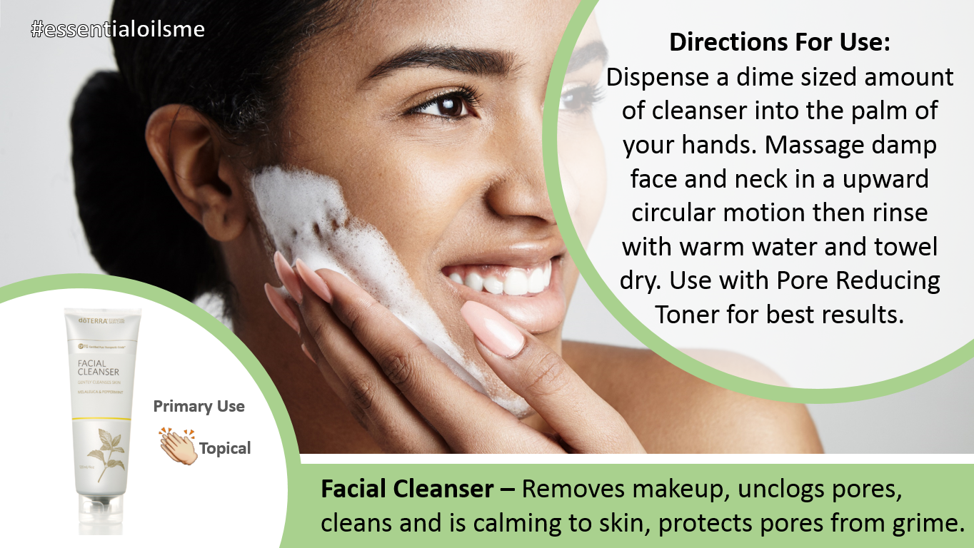 doterra facial cleanser