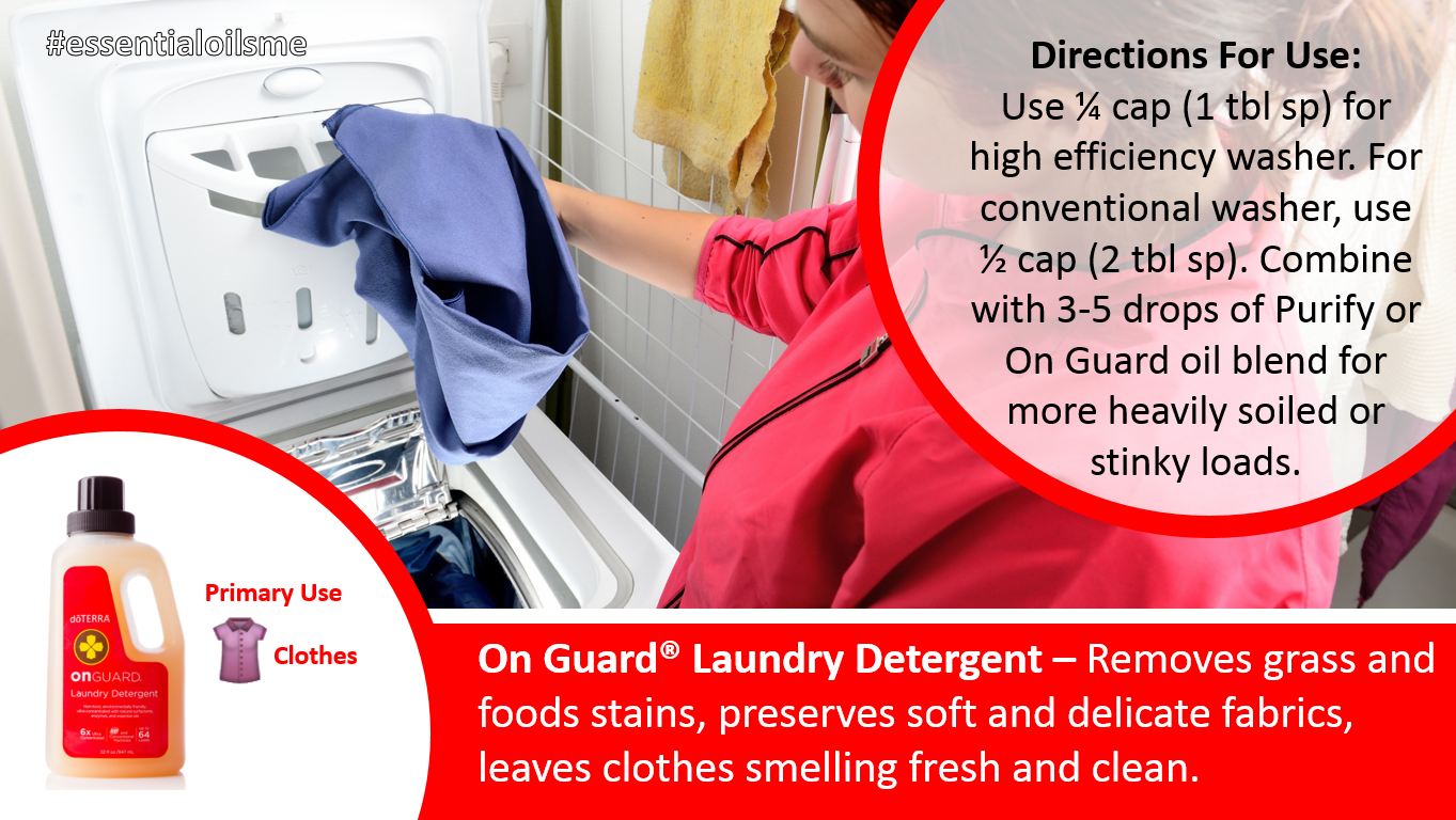 Natural Laundry Detergent With Essential Oil