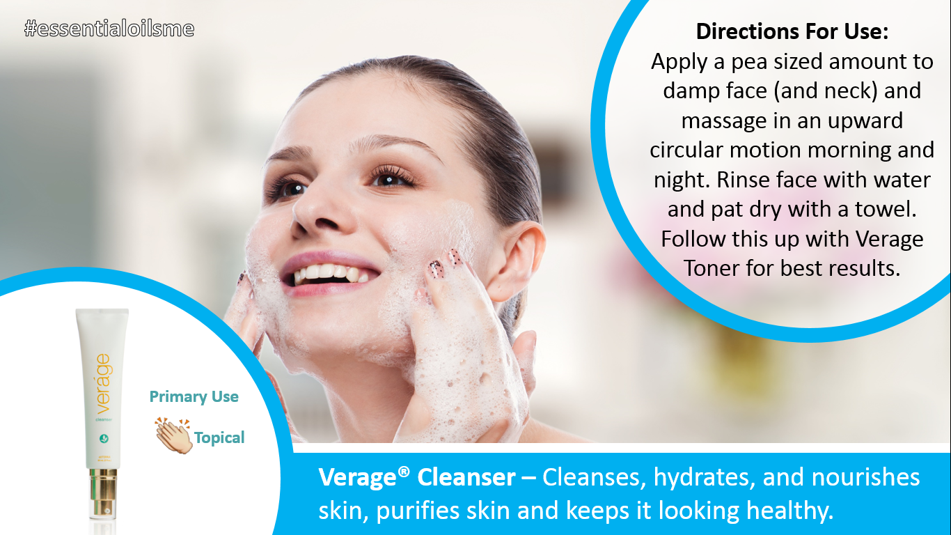 doterra verage cleanser