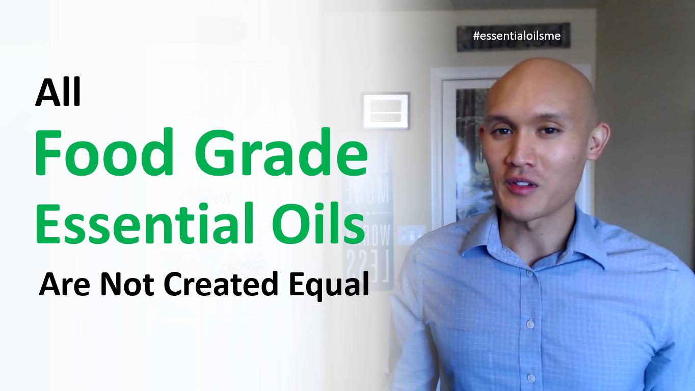 food grade essential oils