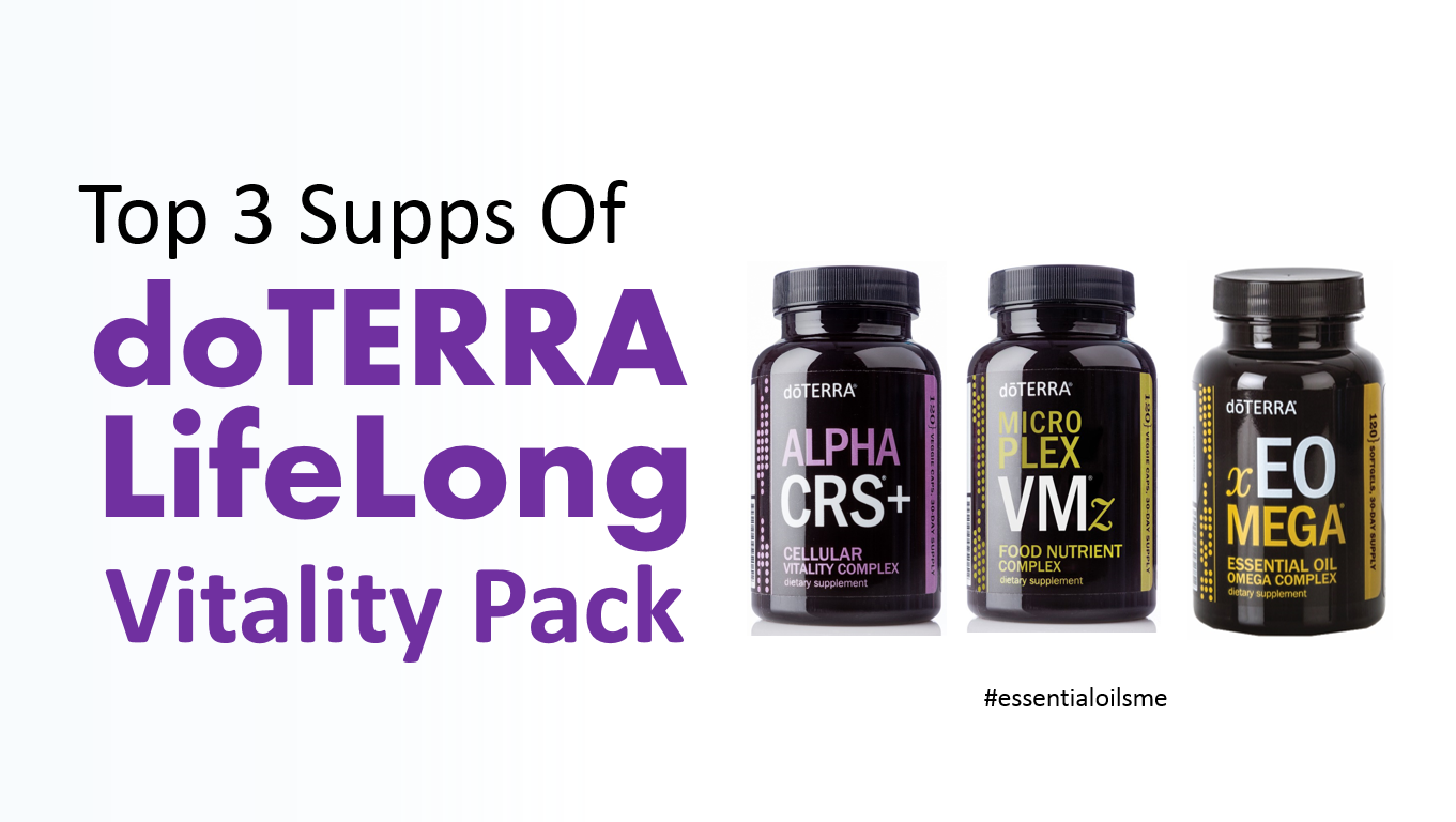Top 3 Supps Of Doterra Lifelong Vitality Pack