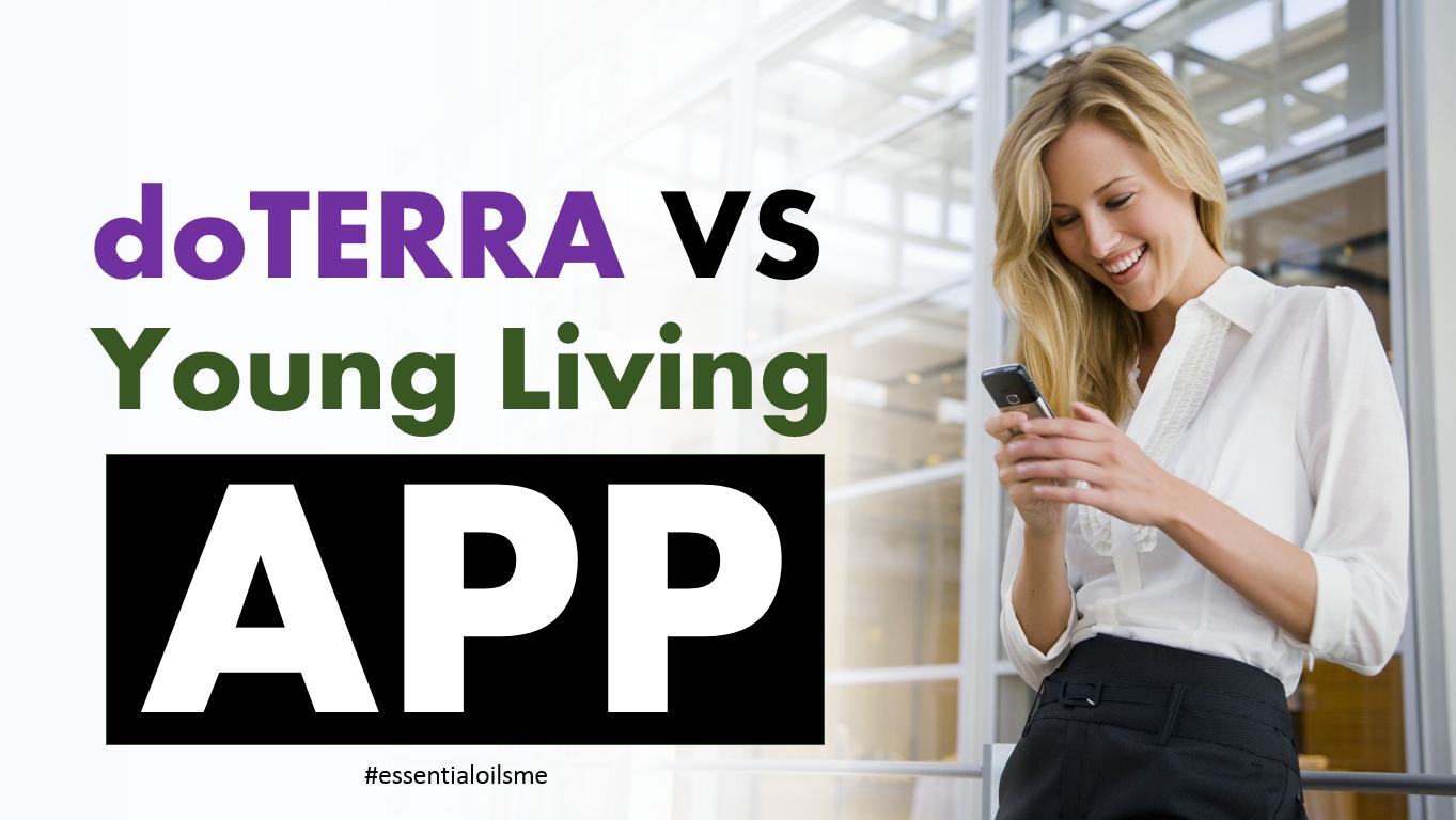 doterra vs young living app