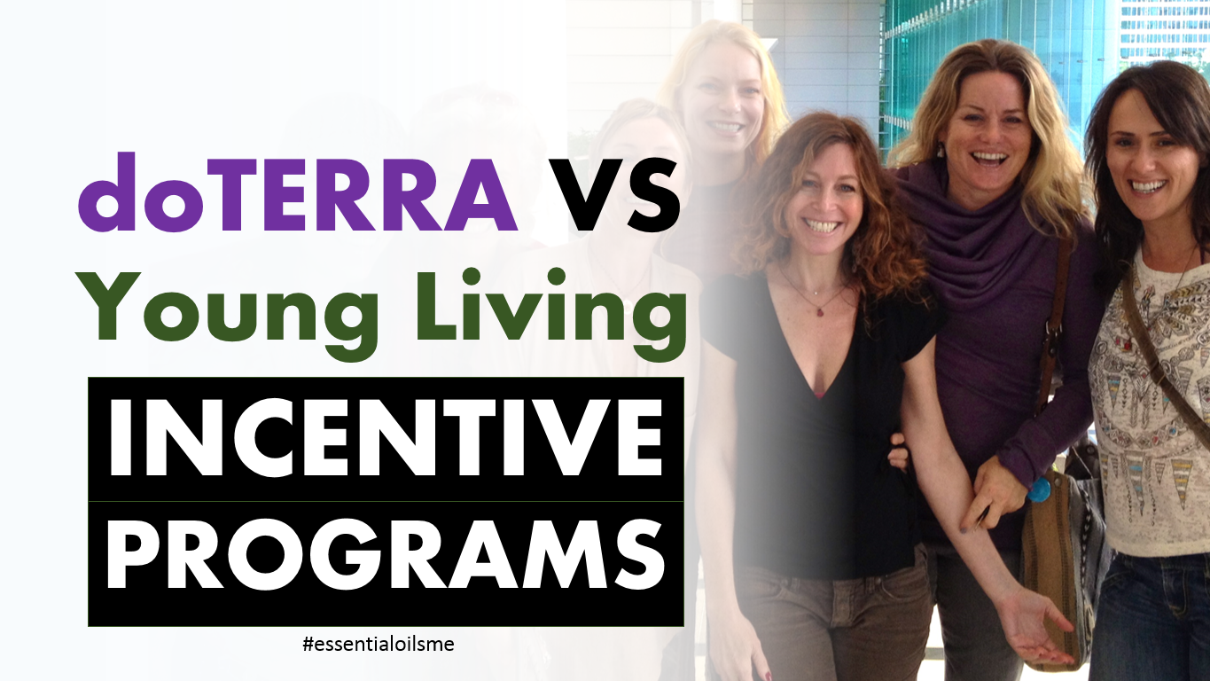 doterra vs young living incentive programs