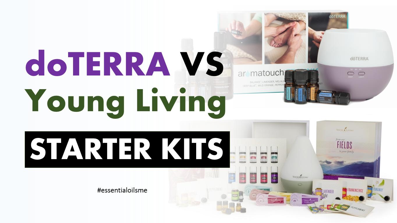 doterra vs young living starter kits