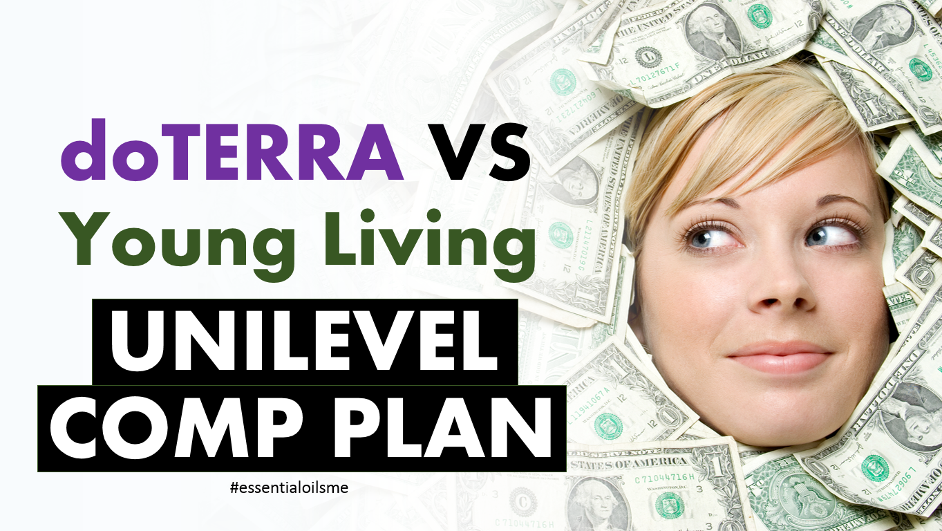 doterra vs young living unilevel comp plan