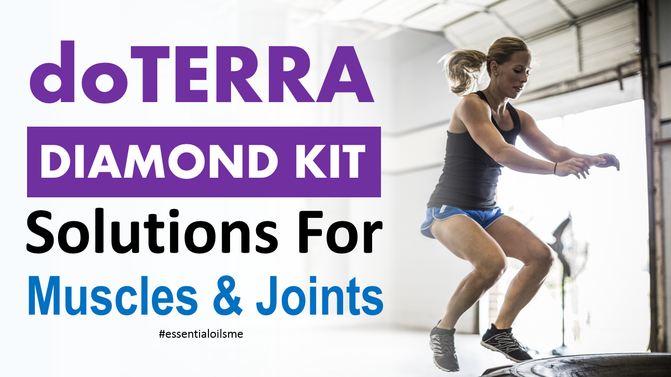 doterra diamond kit solutions for muscles and joints