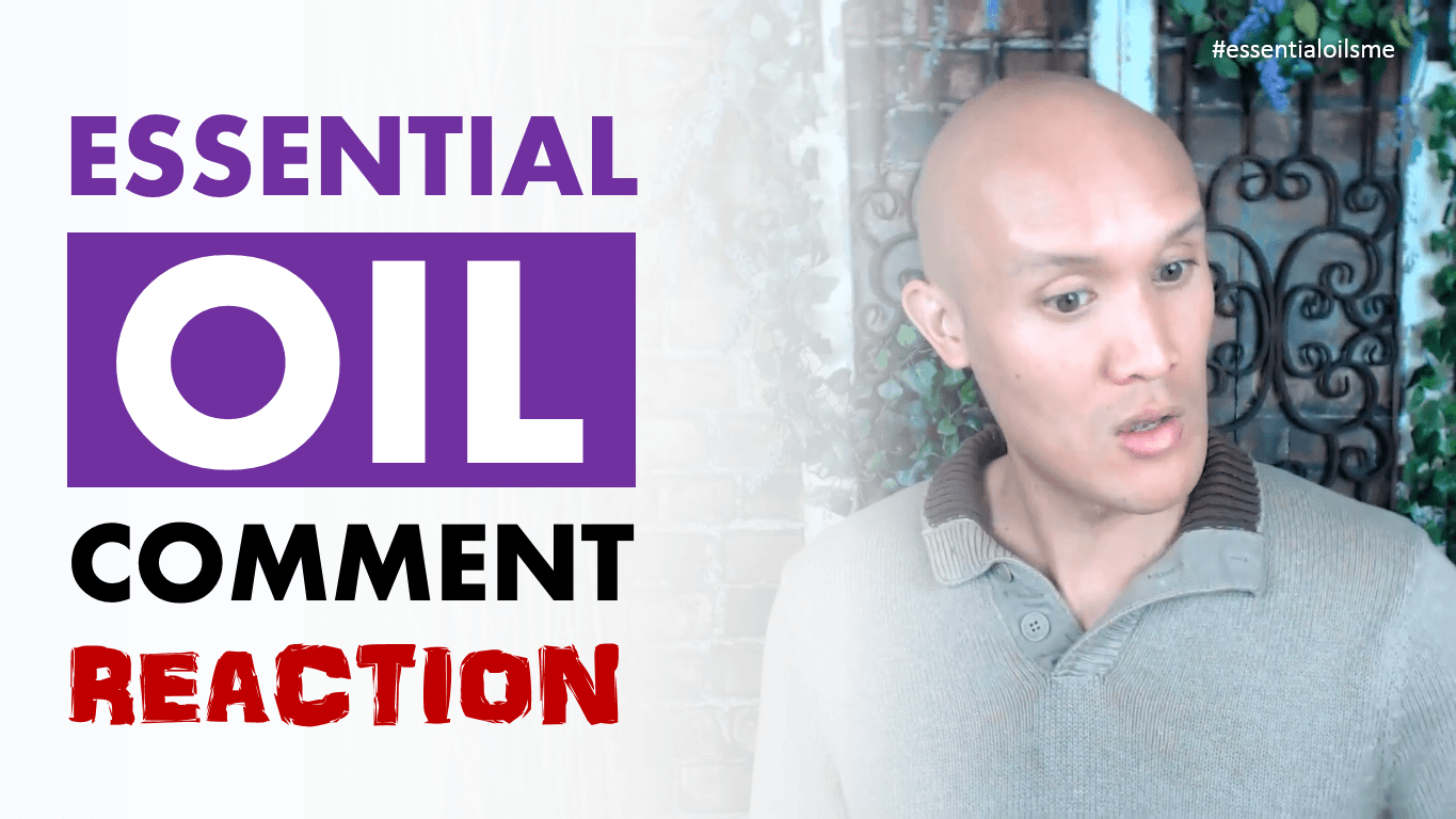 do essential oils really work comment reaction