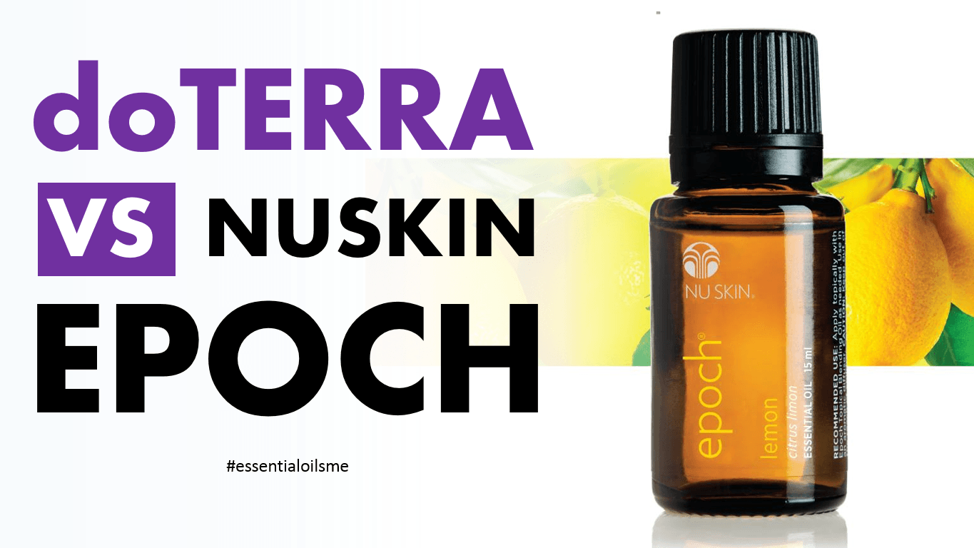 nuskin epoch essential oils