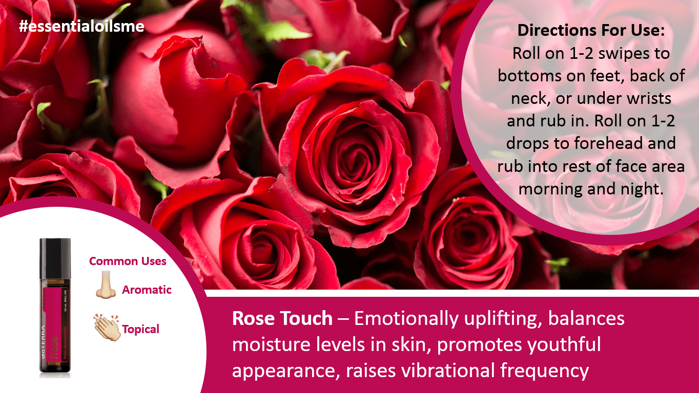 doterra rose touch oil