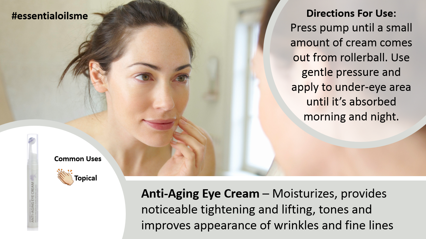 doterra anti aging eye cream roller bottle