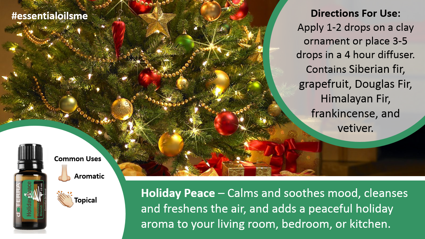 doterra holiday peace oil blend