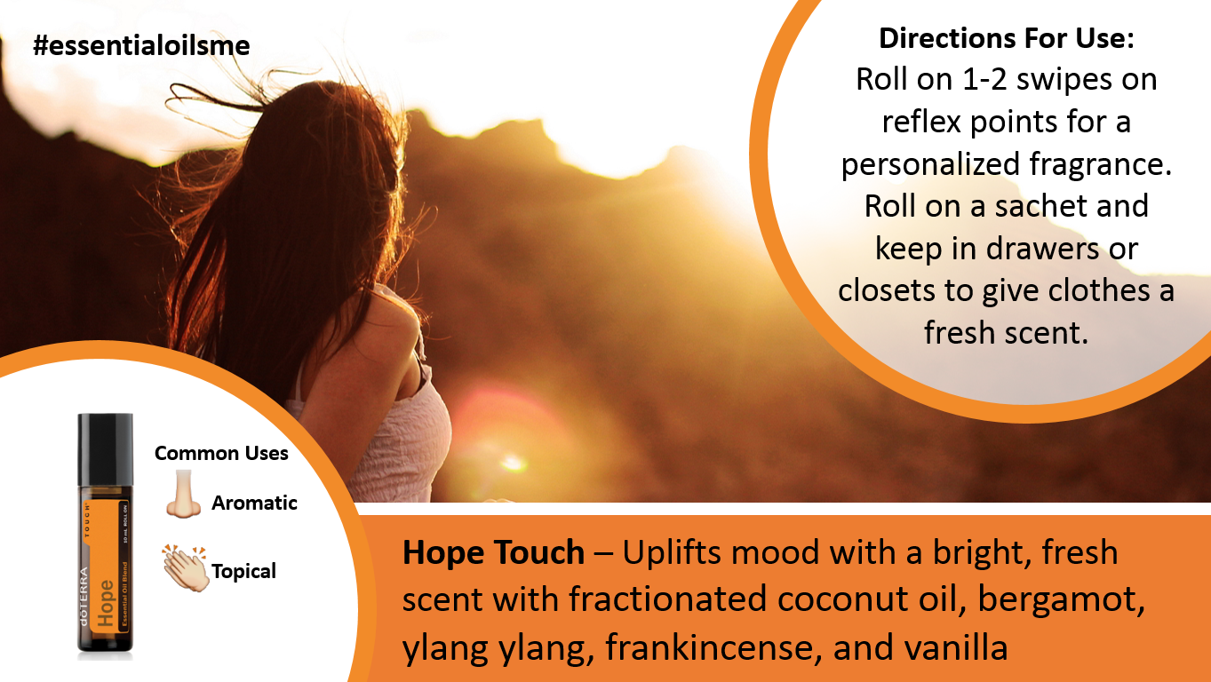 doterra hope touch oil blend benefits